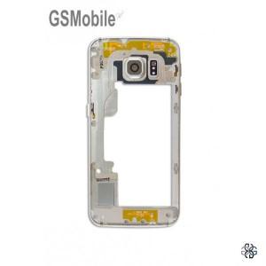 Quadro intermediário Samsung S6 Edge Galaxy G925F Dourado Desmontagem