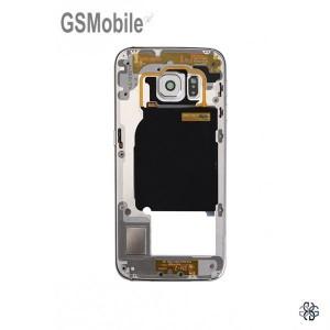 Quadro intermediário Samsung S6 Edge Galaxy G925F Branco Desmontagem