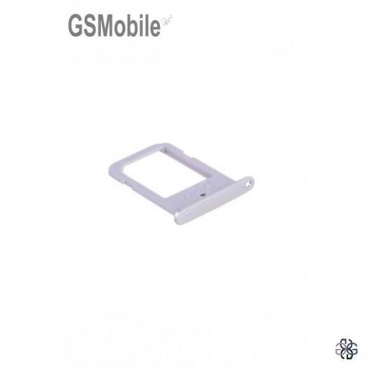 Samsung S6 Edge Galaxy G925F Sim Card tray - silver