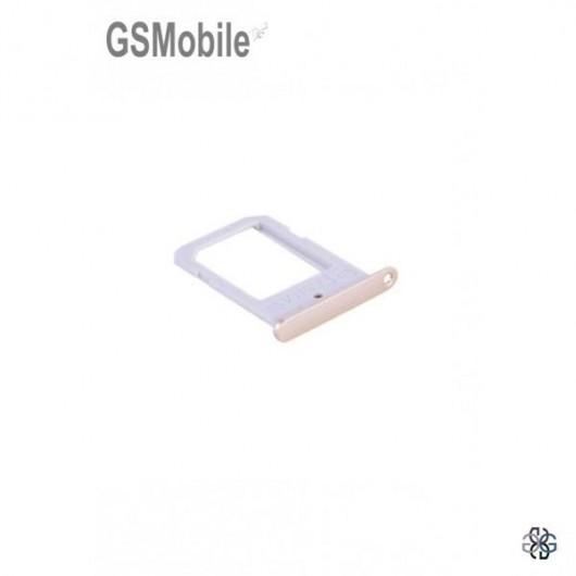 Samsung S6 Edge Galaxy G925F Sim Card tray - gold