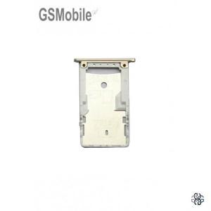 Bandeja de cartão SIM e MicroSD Xiaomi Redmi 4 dourado