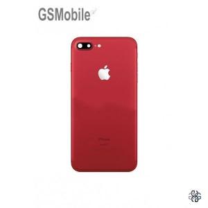 Capa traseira do chassi iPhone 7G Plus Vermelho - Peças Originais para iPhone