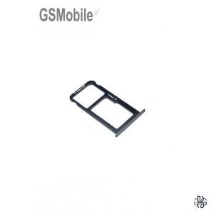 Huawei P8 Lite 2017 SIM card and MicroSD tray black - Original