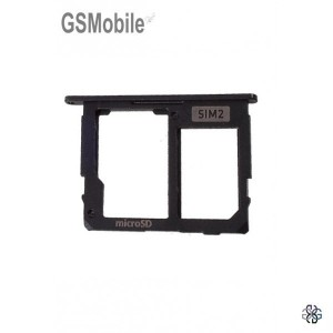 Samsung J7 2017 Galaxy J730F Sim / SD Card Tray black