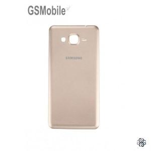 Tampa traseira dourada para Samsung Grand Prime Galaxy G530F
