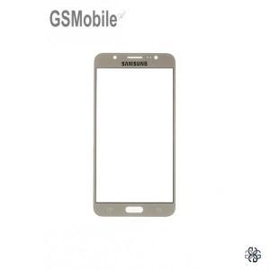 Samsung J7 2016 Galaxy J710F Screen Glass Lens Gold