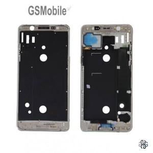 Display Frame for Samsung J5 2016 Galaxy J510F gold