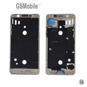 Display Frame for Samsung J5 2016 Galaxy J510F Silver