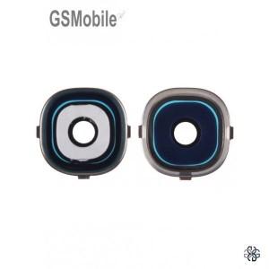 Vidro da câmera traseira com frame para Samsung S4 Galaxy i9505