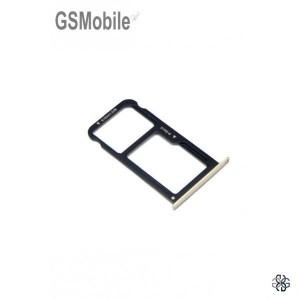 Huawei P9 lite SIM card and MicroSD tray gold