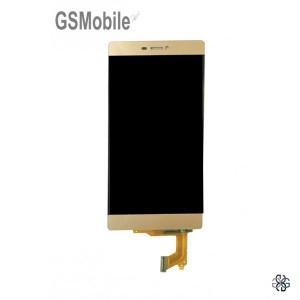 Ecrã - Display LCD Touch Huawei P8 Dourado