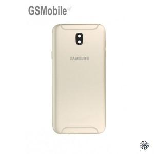 Samsung J7 2017 Galaxy J730F Battery Cover original - gold