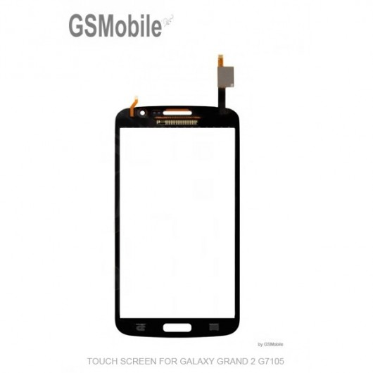 Ecrã Touch Screen preto Samsung Grand 2 Galaxy G7105