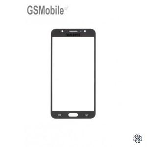 Samsung J7 2016 Galaxy J710F Screen Glass Lens black
