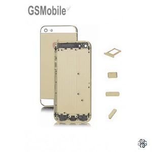 Chassis para iPhone 5 5G Dourado - peças sobressalentes para iPhone