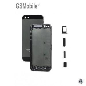 Chassis para iPhone 5G Preto - componentes originais iphone