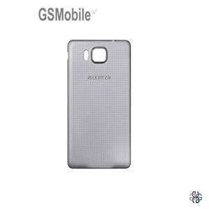 Samsung Alpha Galaxy G850F battery cover silver