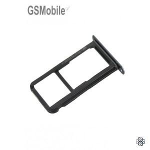 Bandeja de cartão SIM e MicroSD Huawei P10 Lite Preto