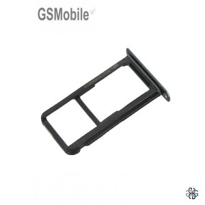 Huawei P10 Lite Sim tray + MicroSD tray Black