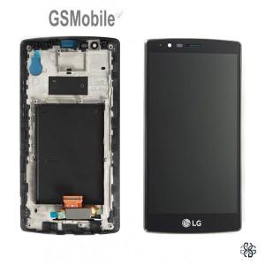 Ecrã - Display LCD Touch com frame LG G4 H815 Preto