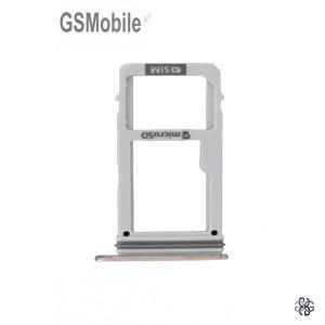 SIM card and MicroSD tray Samsung A3 2017 Galaxy A320F Gold