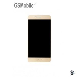 Ecrã - Display LCD Touch Huawei Honor 8 Dourado