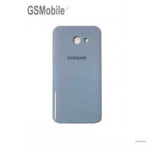 Samsung A3 2017 Galaxy A320F battery cover - Blue