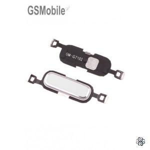 Botão Home branco Samsung Grand 2 Galaxy G7105