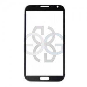 Vidro Dianteiro preto Samsung Note 2 Galaxy N7100