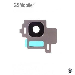 Vidro da câmera traseira con frame Samsung S8 Galaxy G950F