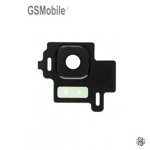Vidro da câmera traseira con frame Samsung S8 Galaxy G950F Preto