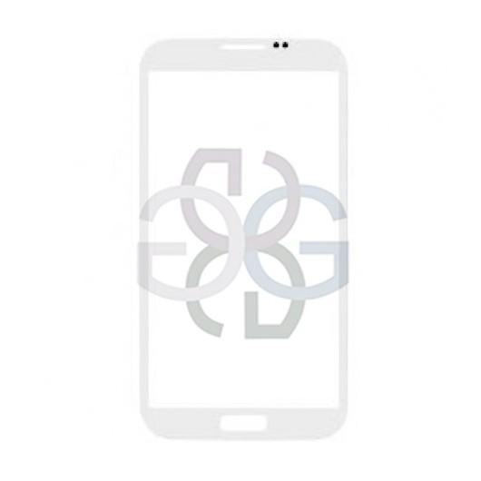 Samsung Note 2 Galaxy N7100 Screen Glass Lens white