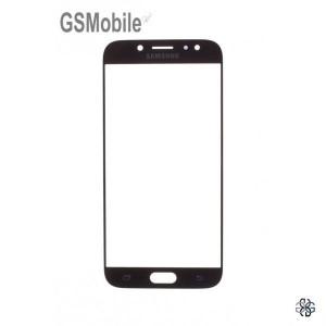 Samsung J7 2017 Galaxy J730F Screen Glass Lens black