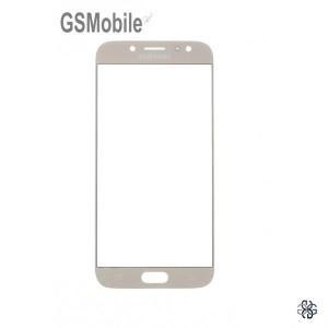 Samsung J7 2017 Galaxy J730F Screen Glass Lens Gold