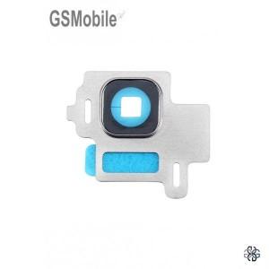 Vidro da câmera traseira con frame Samsung S8 Galaxy G950F Prata