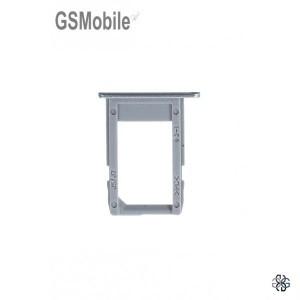 Bandeja do cartão SIM prata Samsung J7 2017 Galaxy J730F