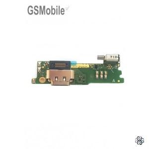 Charging connector + Vibra + Microfone para Sony Xperia XA1