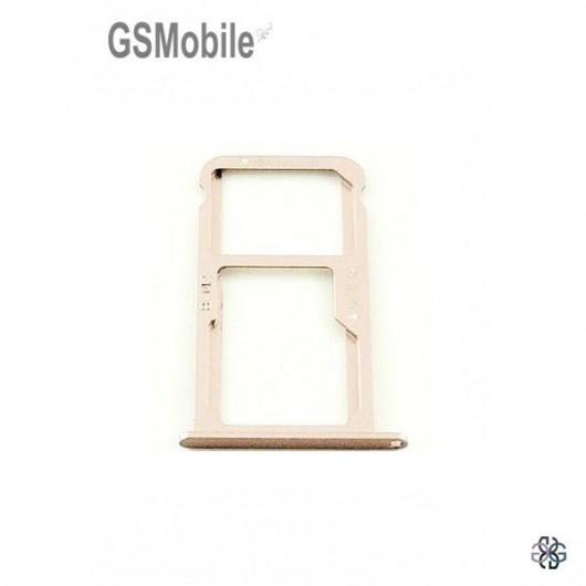 Huawei Nova SIM card and MicroSD tray pink original