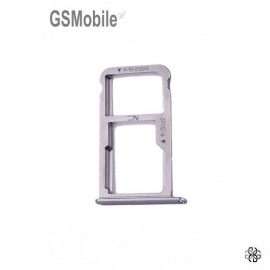 Huawei Nova SIM card and MicroSD tray grey original