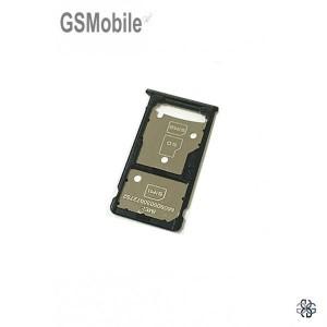 Bandeja de cartão SIM e MicroSD preta Huawei Honor 5c