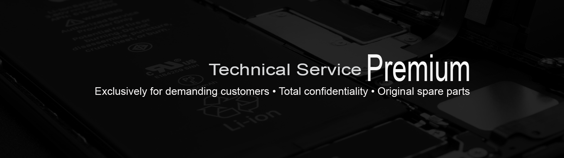 iPhone specialized technical service